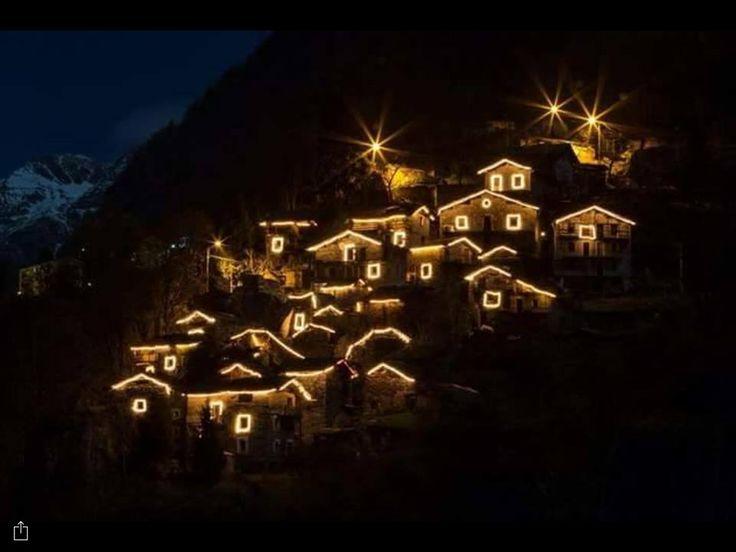 Contrada Scilironi a Natale