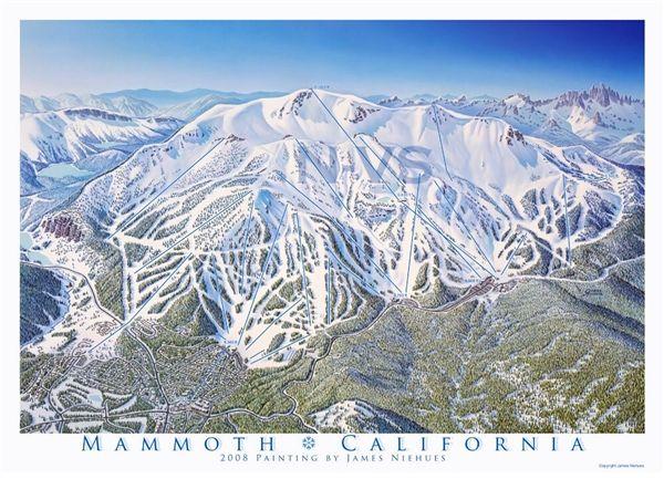 mammoth lakes ski map Mammoth Mountain Ski Resort Ski Trail Map Mammoth Mountain mammoth lakes ski map
