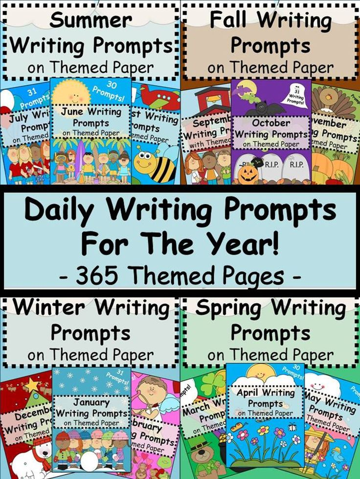 12 full months of thought provoking and relevant writing prompts on printer-friendly themed paper!  Either copy individual pages or run it off as a weekly, monthly, seasonal or yearly packet!  Each prompt is related to the most common topics of each month.  This bundle combines all 12 of my monthly writing prompts into one amazing money-saving package!