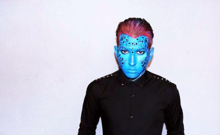 Make up mystique caracterización