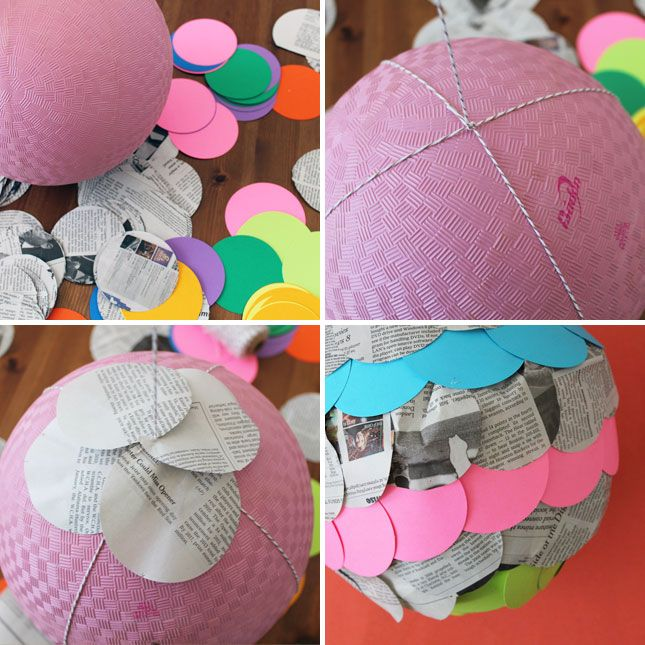 12 creative ways to repurpose newspaper creative the for How to make paper lamp step by step