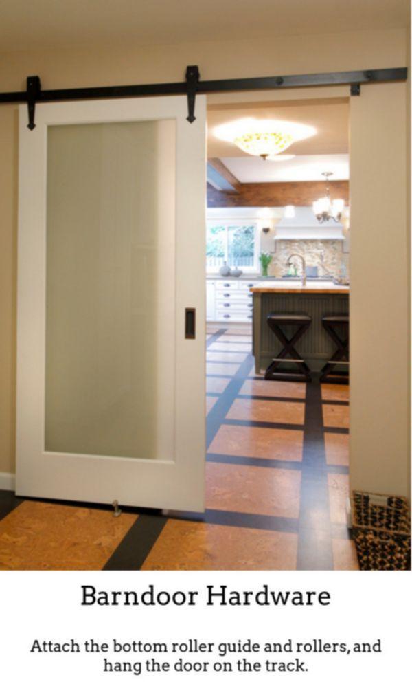 Barndoor Hardware Obtain Barn Door Sliding Door Combined With Flat Track Equipment Units Which Will Glass Barn Doors Barn Style Doors Diy Barn Door Hardware