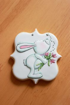 "Galletas decoradas ""¡Feliz Pascua!"""
