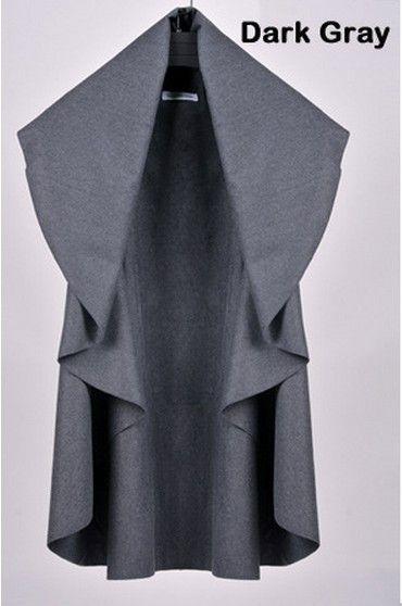 Dmart7dealOutwear New Women Vest Coat Colete Feminino Plus Size Loose Irregular Casual Female Coats Jackets Vest Coats 6 Colors