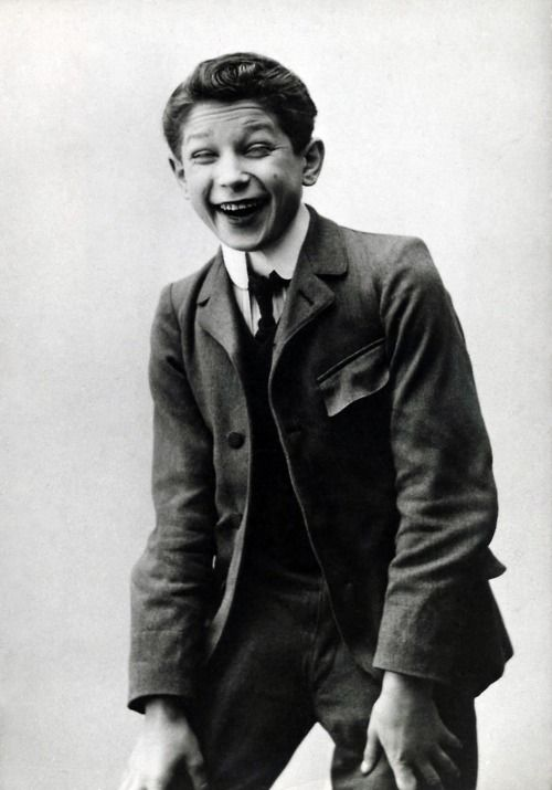 Maurice Chevalier as a young boy.