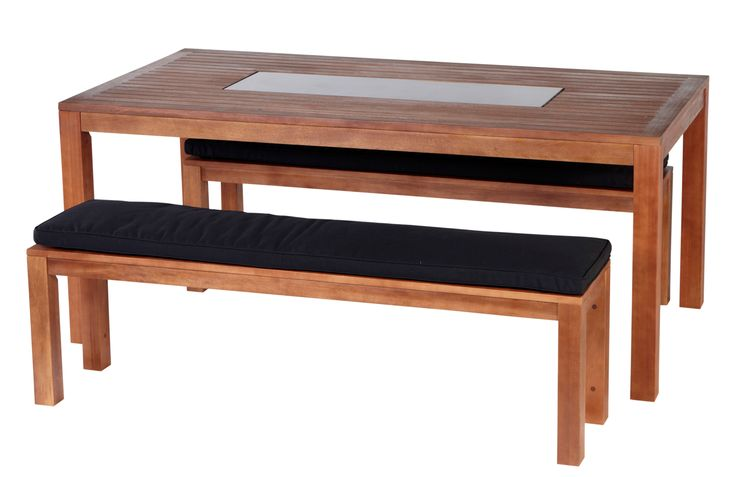 Barbeques Galore - Products - Richmond Deluxe 3 Piece Bench Setting
