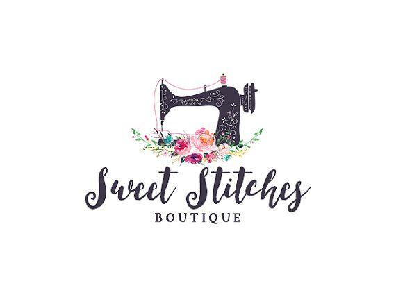 Logotipo de costura, preconfeccionados floral la máquina de coser diseño 229                                                                                                                                                                                 Más