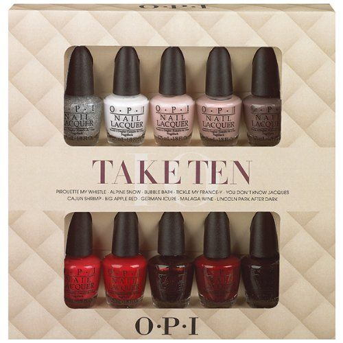 Are you looking for a few holiday beauty gift ideas? We have a few stocking stuffers you may like, thanks to Whitney 'Nic' James!  OPI Gift Set - Beauty Stocking Stuffer