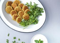 Falafel sin harinas ni fritos, libre de gluten, paleo de ahungryblog