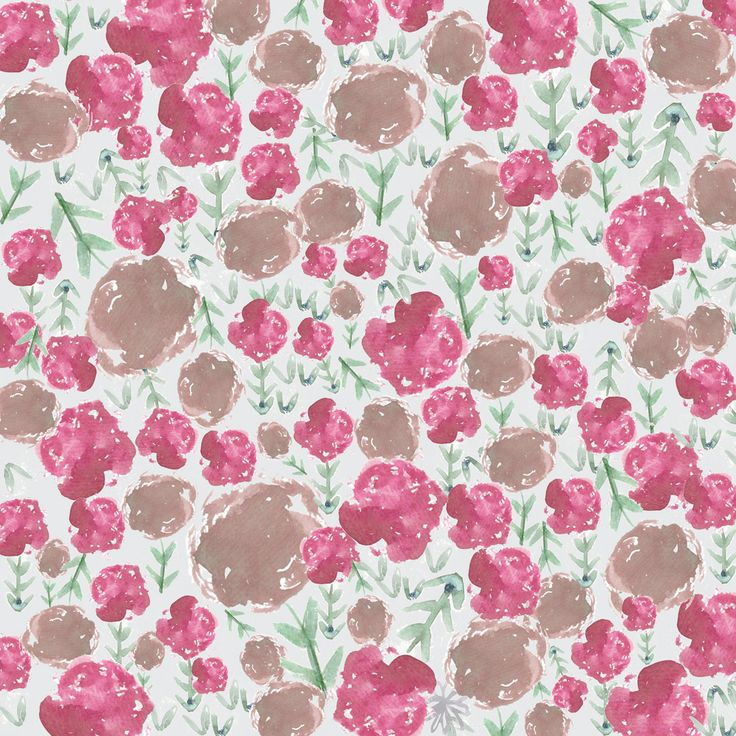 final Floral Entry 'In Bloom' for the Digital Fabric Botanical Extract Competition. By Rebecca Ng