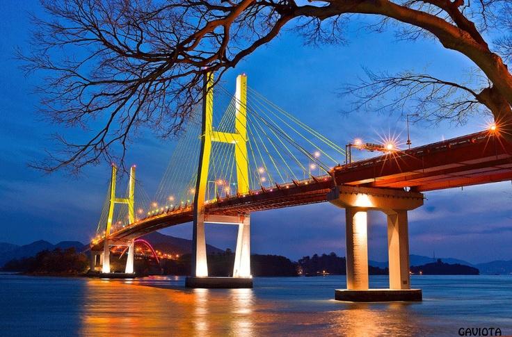 Samcheonpo Bridge in Gyeongsangnam-do