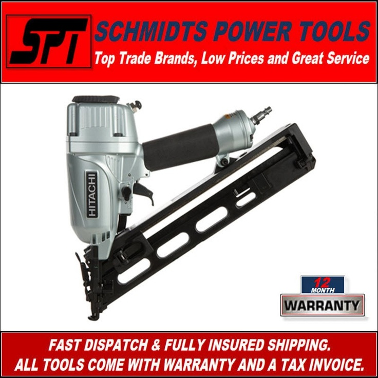 One of our most popular nail guns.  These are just a fantastic nail gun.  My own personal Hitachi fixing gun is over 10 years old and been the best fixing nail gun i've owned.  These are one of the most popular on the market.