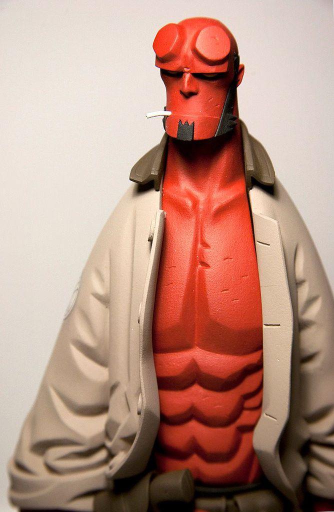 Fariboles Productions – 1/6th Scale Mike Mignola's Hellboy Statue