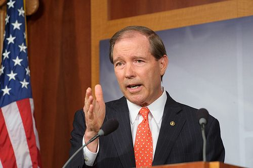 Campaign Finance Amendment by Senator Tom Udall: The U.S. Supreme Court's decision striking down more limits on campaign donations is misguided and will allow a few wealthy individuals to flood campaigns with cash, drowning out the voices of regular voters. Today I am calling on the Senate to support my constitutional amendment to allow Congress and the people, through the states, to regulate campaign finance. Share it with others to help me put elections back in the hands of American…