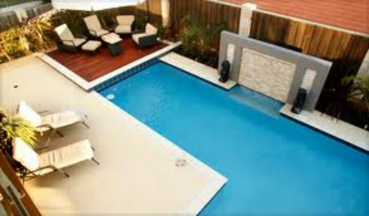 Ideas for our new pool surround ideas for my new house for Pond surround ideas