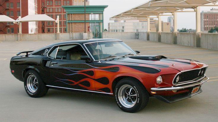 Black 1969 Mach 1 Ford Mustang Fastback - MustangAttitude.com Mobile