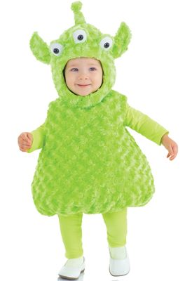 Green Alien Toddler Costume #Halloween #costumes #aliens