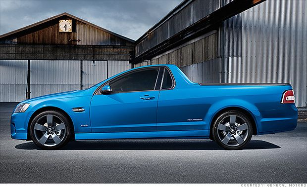 5 funky cars we can't get in the U.S. Holden Commodore :-)