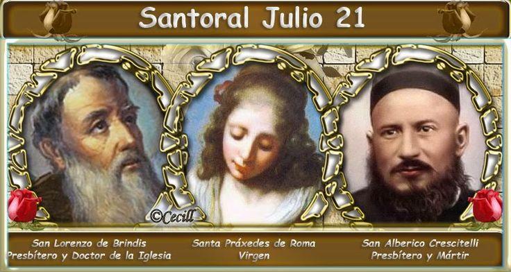 Vidas Santas: Santoral Julio 21
