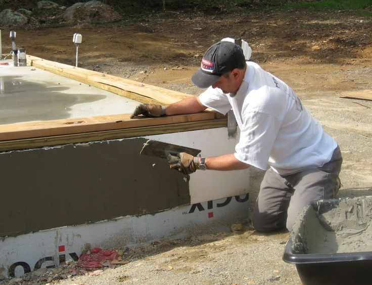 268 best icf construction images on pinterest insulated for Foam basement forms
