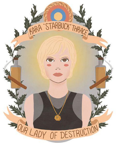 Série de ilustrações celebra personagens femininas fortes da ficção (FOTOS)