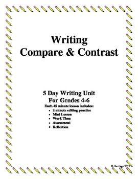 compare contrast essay prompt