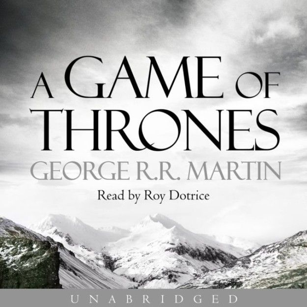 The Game of Thrones series by George R. R. Martin, narrated by Roy Dotrice | 24 Incredible Audiobooks You Won't Be Able To Stop Listening To