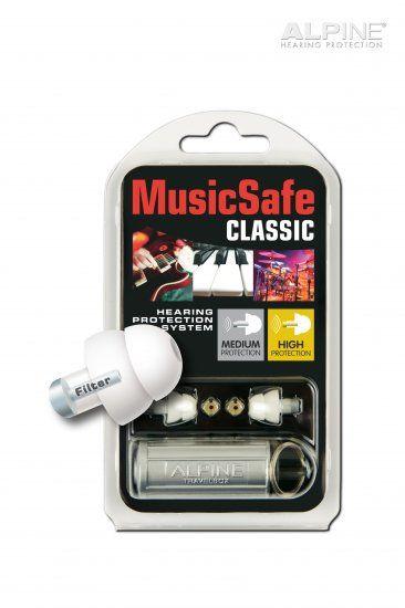 Alpine MusicSafe Classic - Szűrős füldugó zenészeknek, DJ-knek