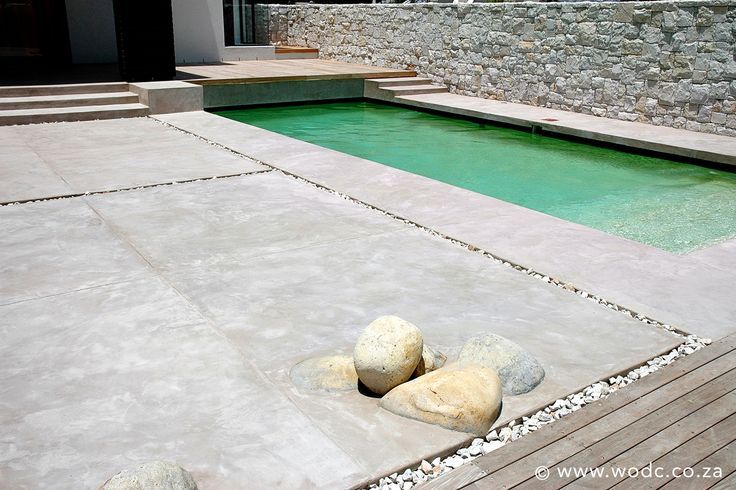 December is the month of love and thanks giving!  With the days warming up and holidays around the corner, spend your days of leisure outdoors and soak up the sun on Stucco Italiano's unique, luxurious and hardwearing Exterior Floor Plaster, available in a wide range of colours.  #wodc #stuccoitaliano #concrete #polishedconcrete #architecture #interiordesign #italianstyleplaster #stucco #plaster #cement #tiles #concretetiles