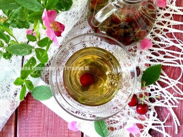 Чай тонизирующий с мятой, черешней и корицей. Рецепты освежающих летних напитков от Татьяны М.