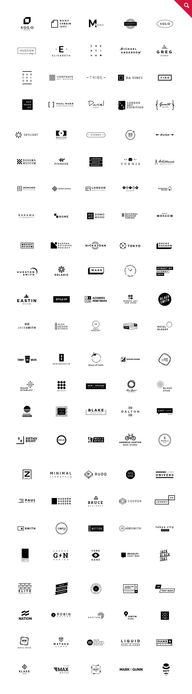665 Logos Bundle by vuuuds on Creative Market