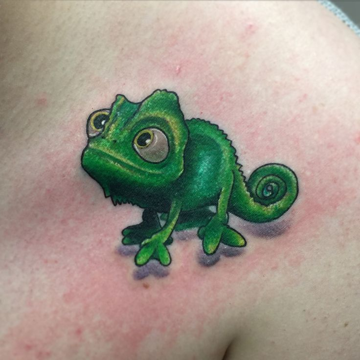 Disney Pascal tattoo by Betzy eaton