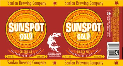 mybeerbuzz.com - Bringing Good Beers & Good People Together...: San Tan Brewing - Sunspot Gold Cans