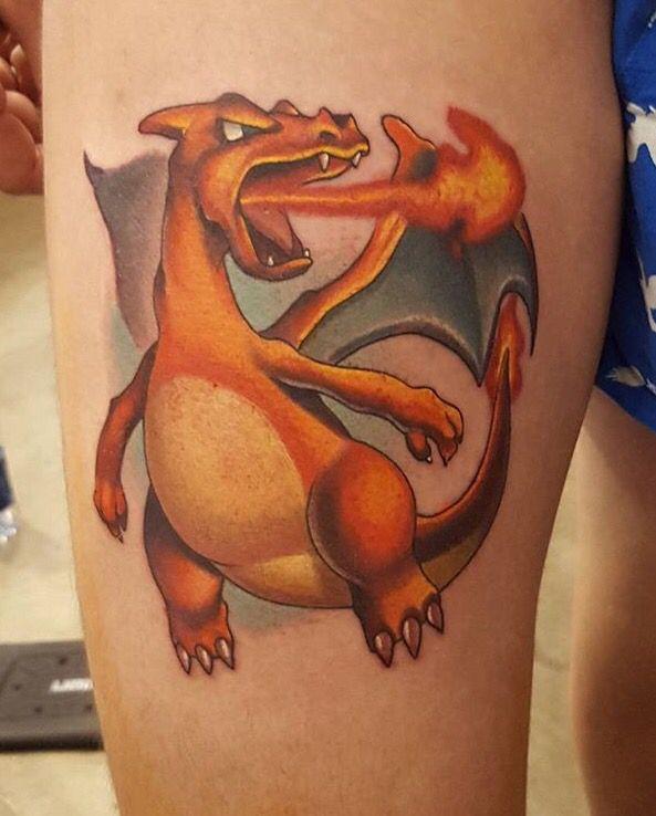 Charizard Tattoo