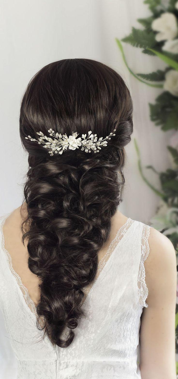 bridal hair comb, wedding hair comb, bridal headpiece