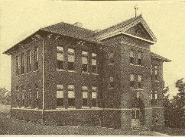 Saint Rose school New Lexington Ohio. 1911