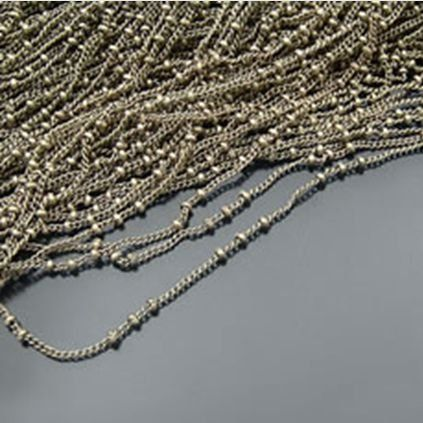 jewelry chain roller chain 2 mm wide by aliyafang on Etsy, $8.42