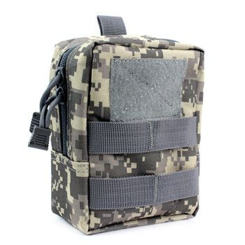 Firedog Weather-proof MOLLE Accessory Bag Compact Utility Tactical EMT EDC Pouch For Backpack
