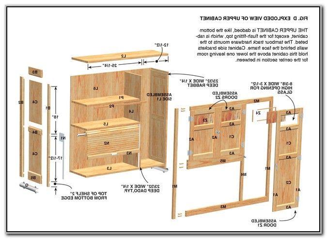 build your own kitchen cabinets free plans woodworking