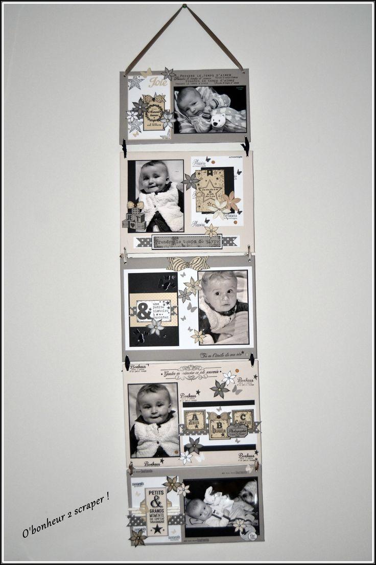 Les 25 meilleures id es de la cat gorie cadre triptyque - Idee deco album photo ...