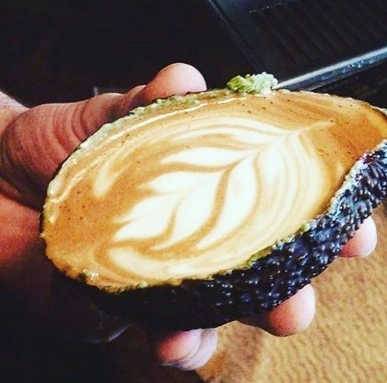 The Avolatte -- one of the many interesting food trends to