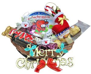 Holiday Treats Basket Send your choicest Christmas and New Year greetings bundled in this pack of goodies. Rs 675/- http://www.tajonline.com/gifts-to-india/gifts-X445.html?Aff=pint2014/