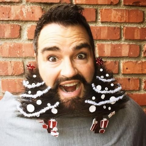 How-To: Make Your Own Beard Ornaments + Dean Banowetz has the Best Beard Ever