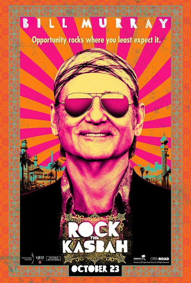 ROCK THE KASBAH movie poster