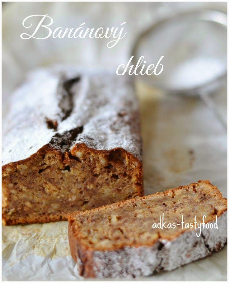 .. chute a vône mojej kuchyne...: Banánový chlieb - Banana bread