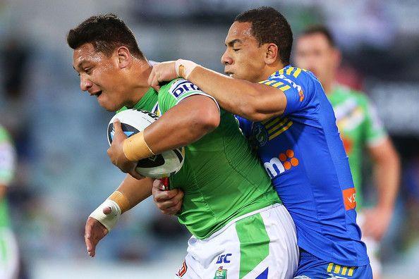 2014 NRL Round 26 Canberra Raiders v Parramatta Eels - Josh Papalii