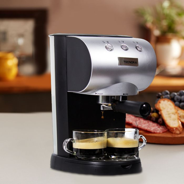 Forget café stopovers and bring home a Tecnora Coffee Machine. Get That Perfect Espresso With The Touch Of A Button. Buy Tecnora Products Online: http://tecnora.in/products/