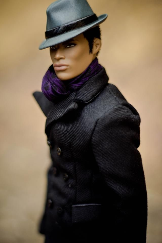 {This is the first time I'm seeing a male African american fashion royalty doll}