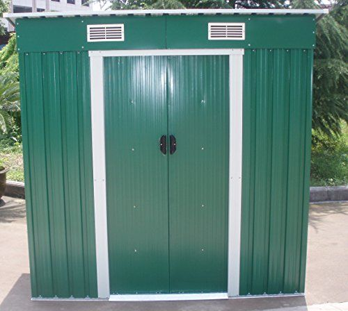 Dirty Pro ToolsTM GARDEN SHED METAL 6 X 4 with base
