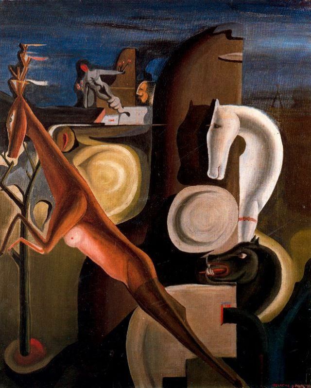 Melts In Your Mind Oscar Dominguez 1906 1957 In 2020 Art Art Inspiration Painting Animal Symbolism